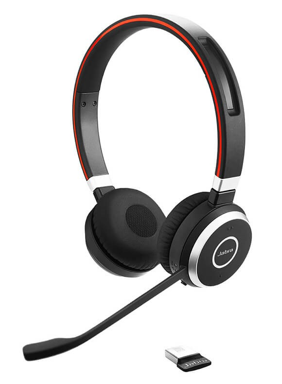 Jabra Evolve 65 Wired Stereo Headset